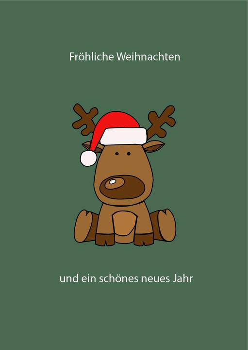 Weihnachtskarte Julia Reiter